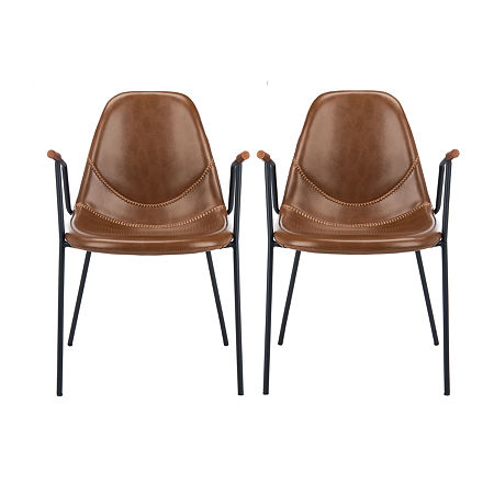Safavieh Tanner Dining 2-pc. Side Chair, One Size , Brown