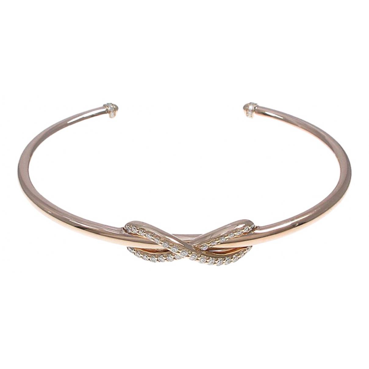 Tiffany & Co \N Armband in  Grau Rosegold