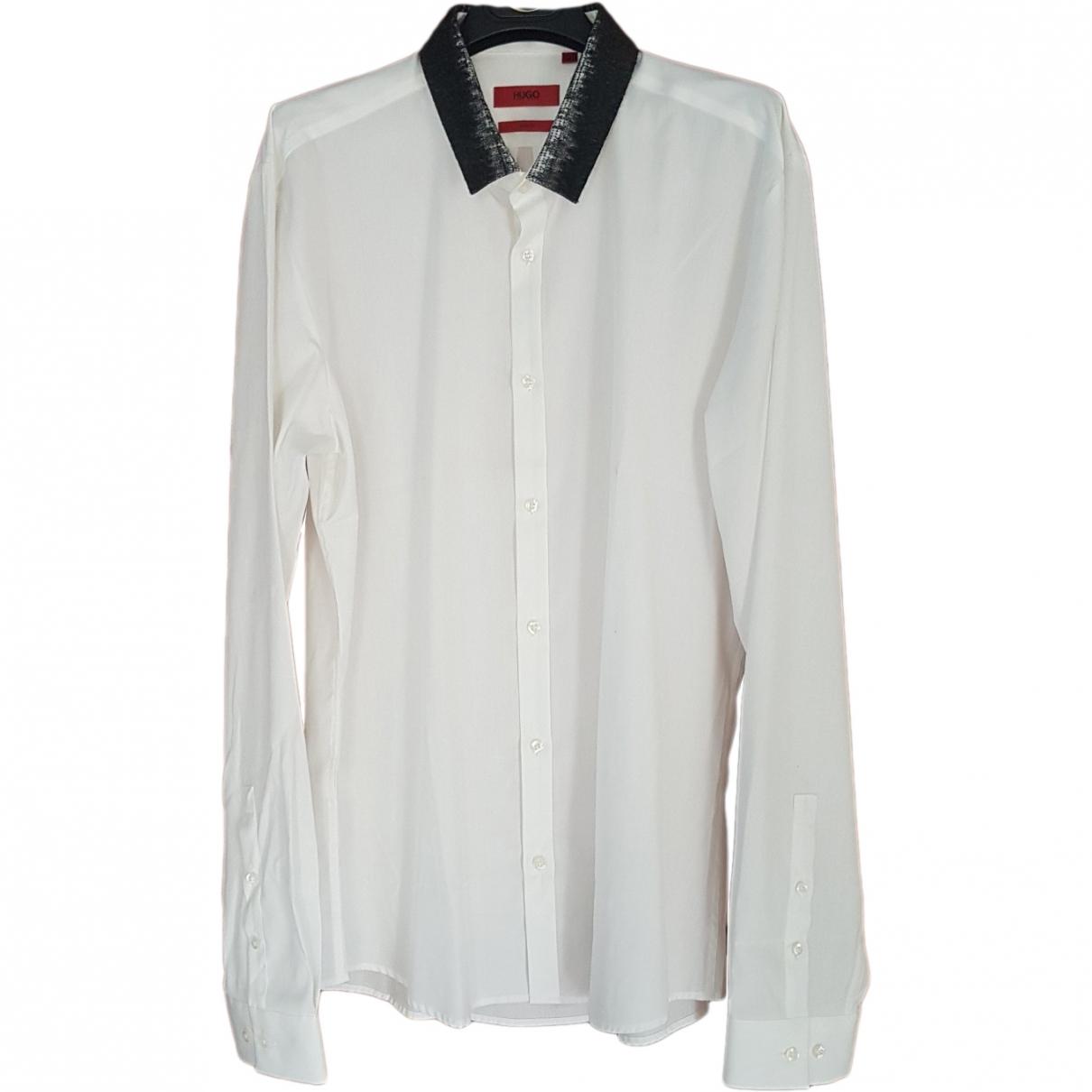 Hugo Boss \N White Cotton Shirts for Men L International
