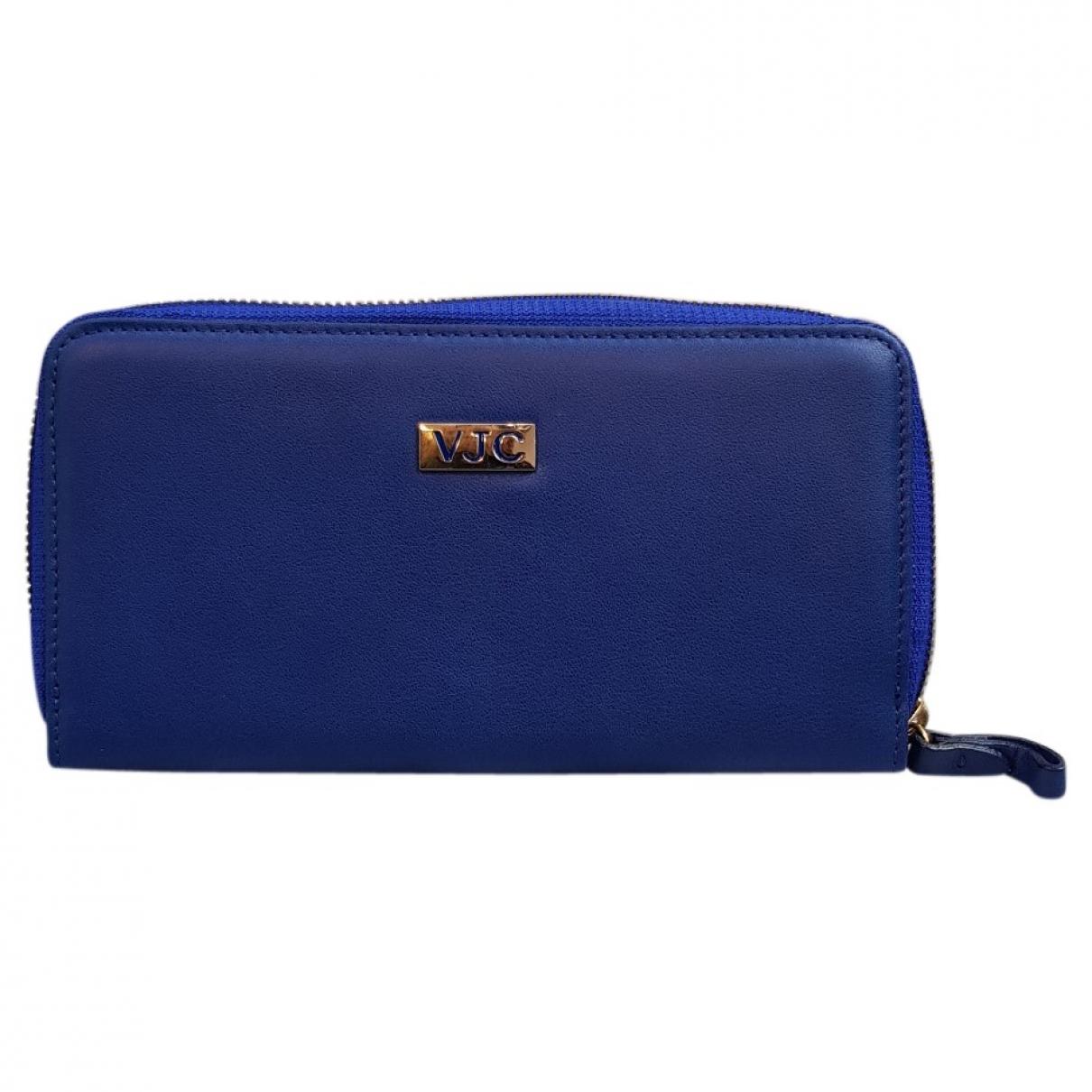 Versace Jeans \N Kleinlederwaren in  Blau Leder