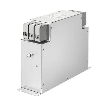 Schaffner , FN3287 100A 530/305 V ac 60Hz Power Line Filter, Screw 3 Phase