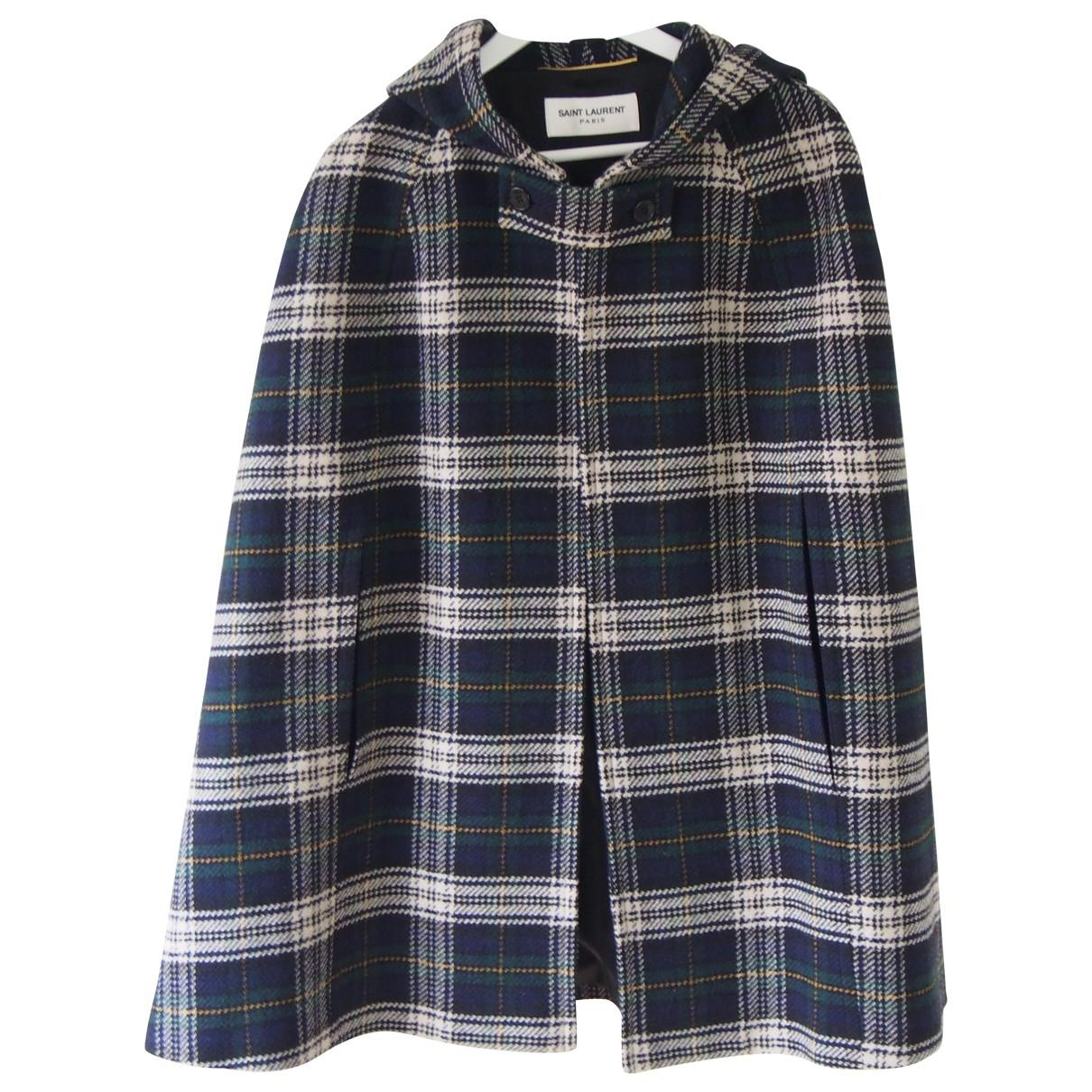 Saint Laurent \N Wool coat for Women 42 FR