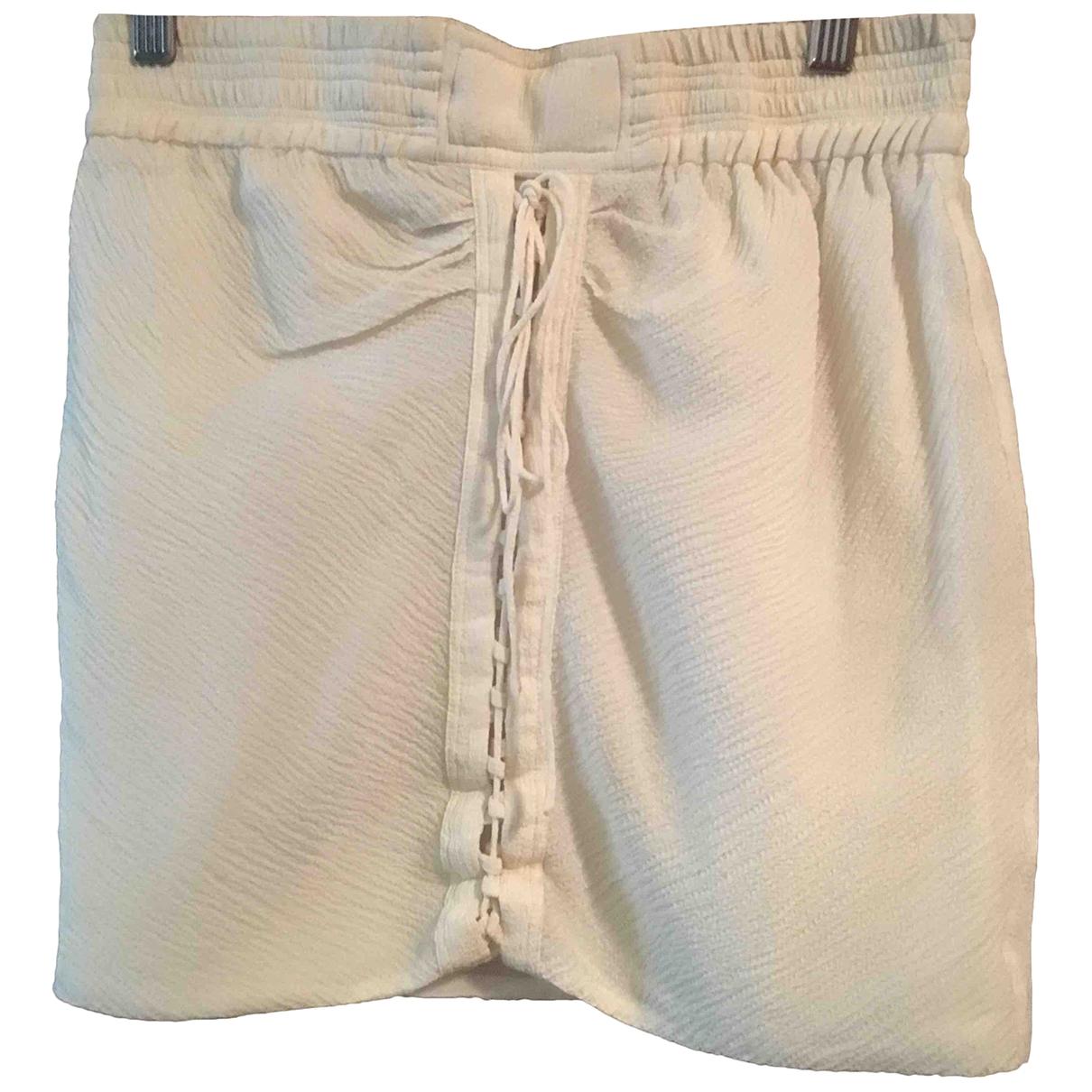 Iro \N White skirt for Women 0 0-5