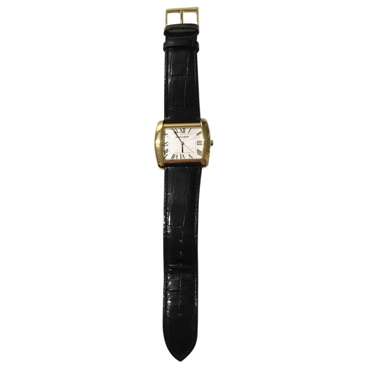 Pierre Cardin \N Uhr in  Schwarz Stahl