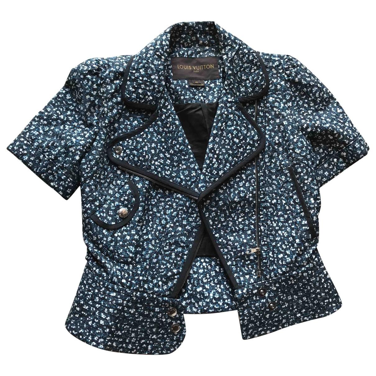 Louis Vuitton - Veste   pour femme en coton - bleu