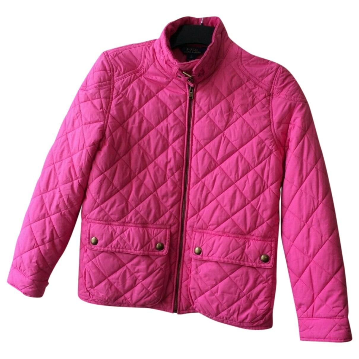 Polo Ralph Lauren - Blousons.Manteaux   pour enfant - rose