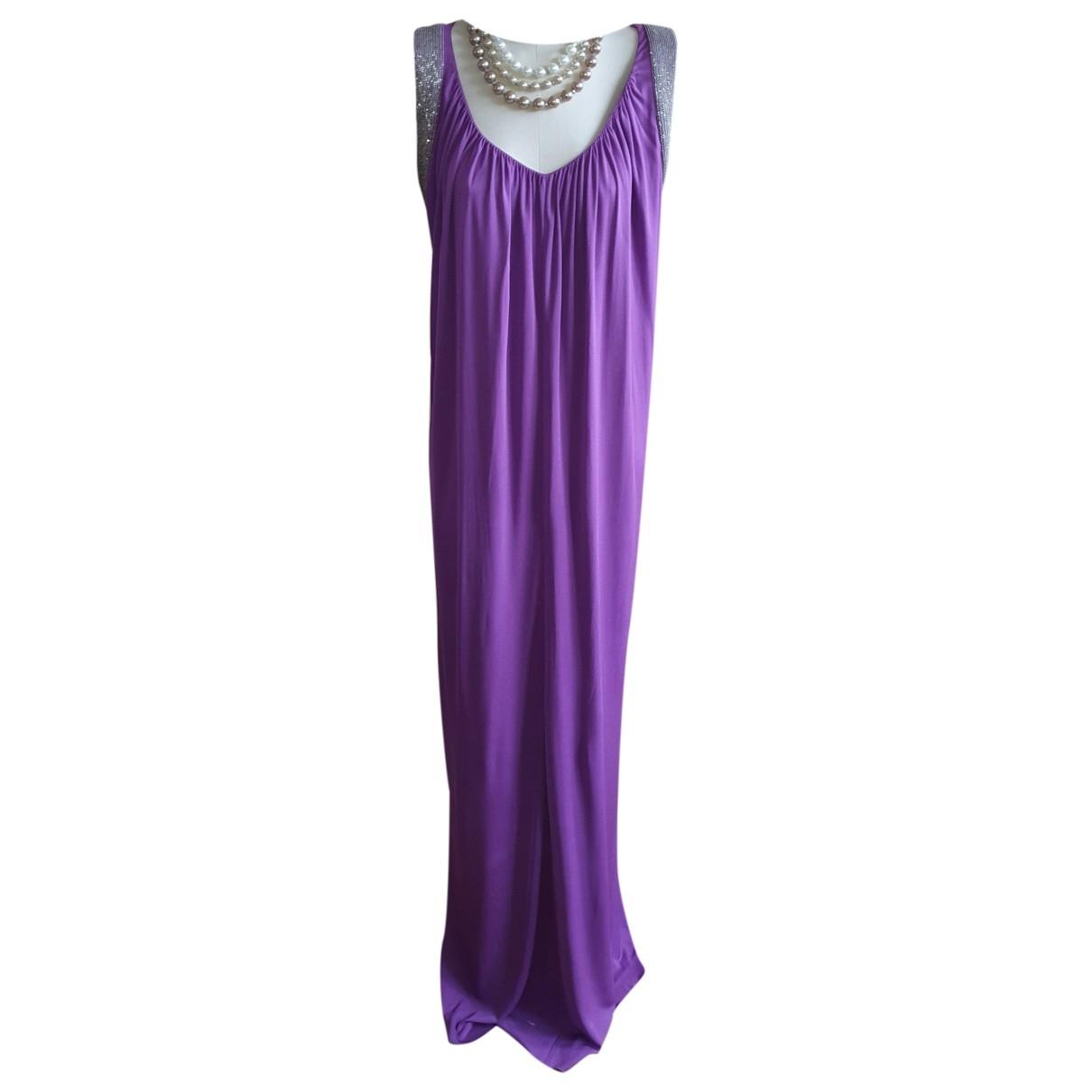 Alberta Ferretti \N Kleid in  Lila Seide
