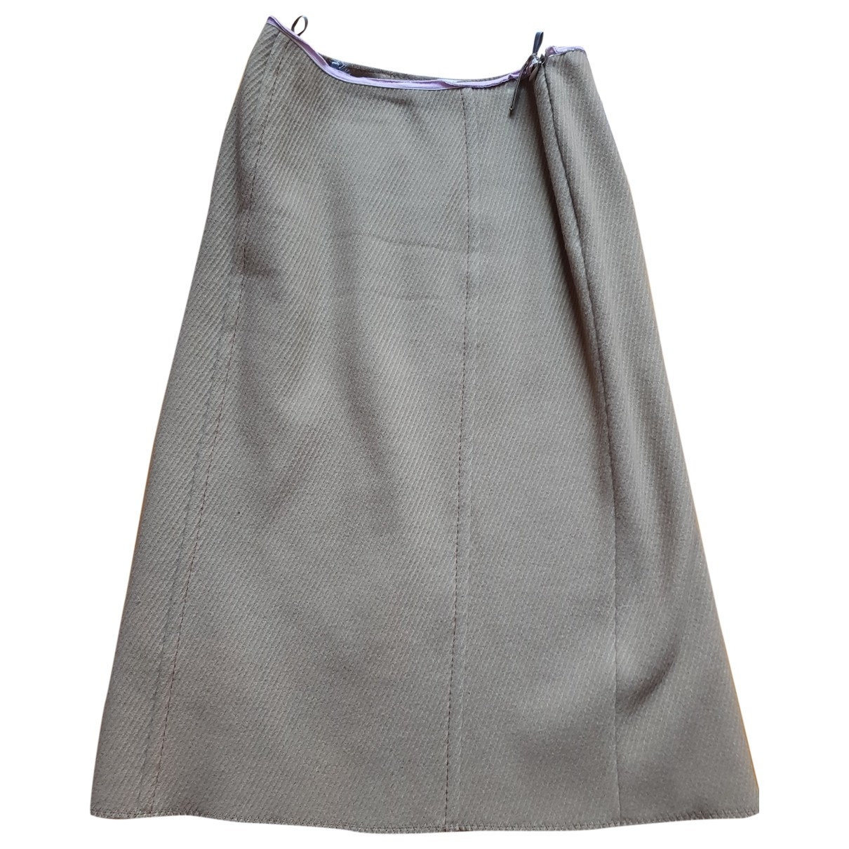 Falda midi de Lana Miu Miu