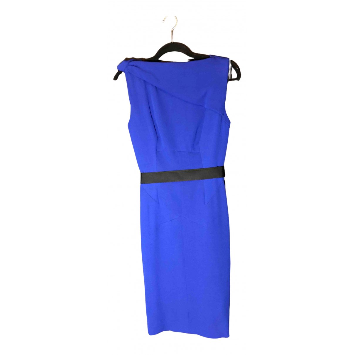 Victoria Beckham - Robe   pour femme en soie - bleu