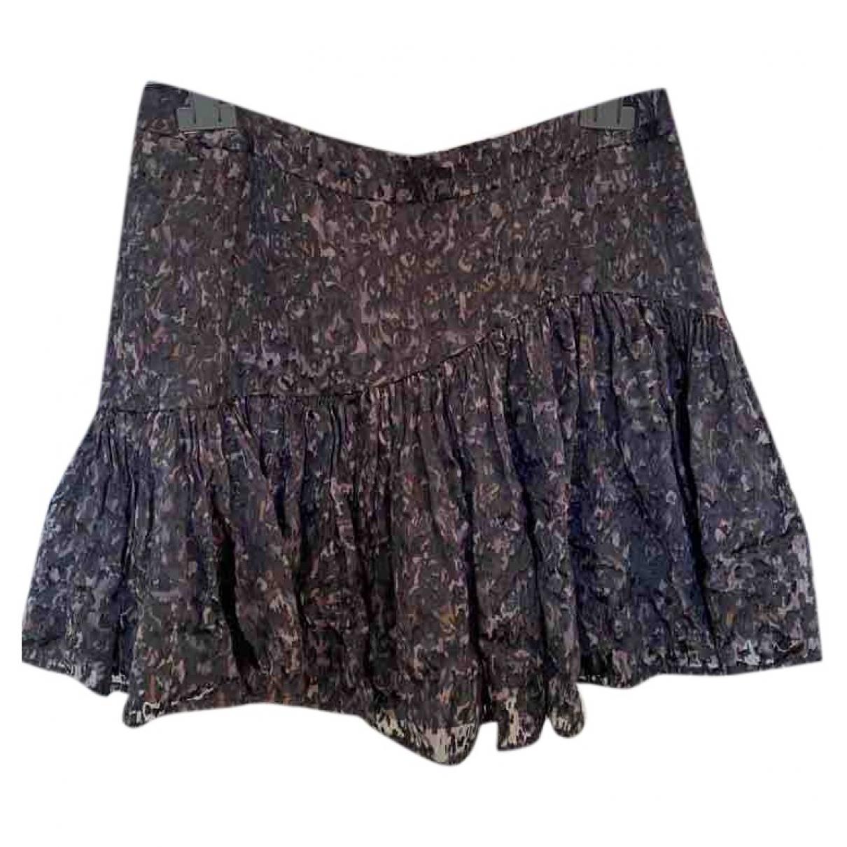Mini falda de Seda Tara Jarmon