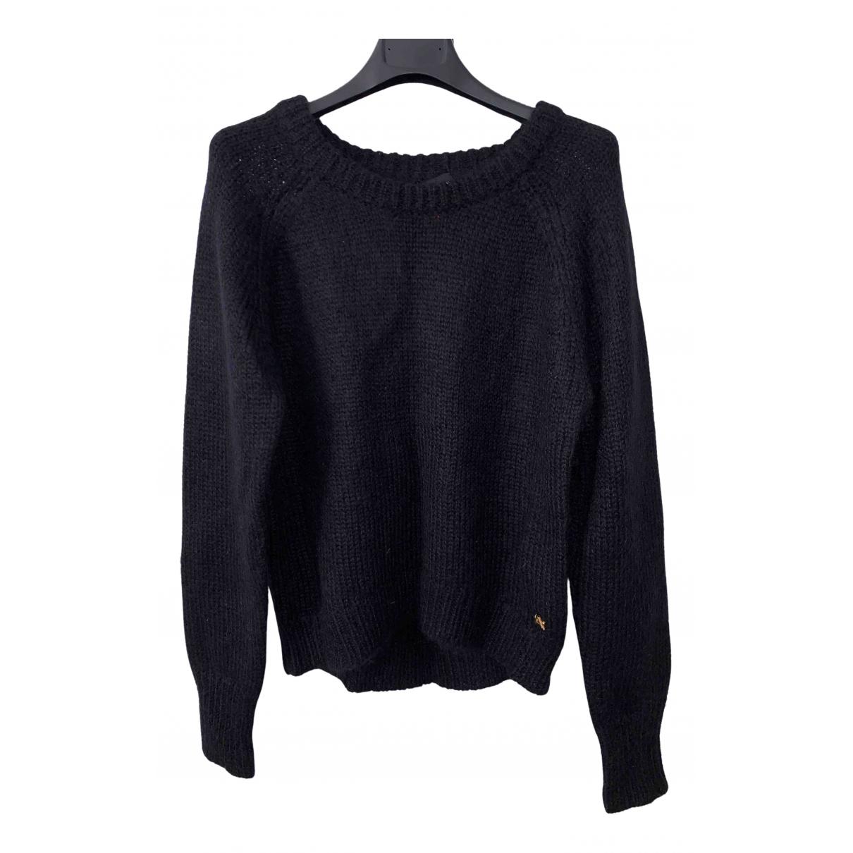 Avelon - Pull   pour femme en laine - noir