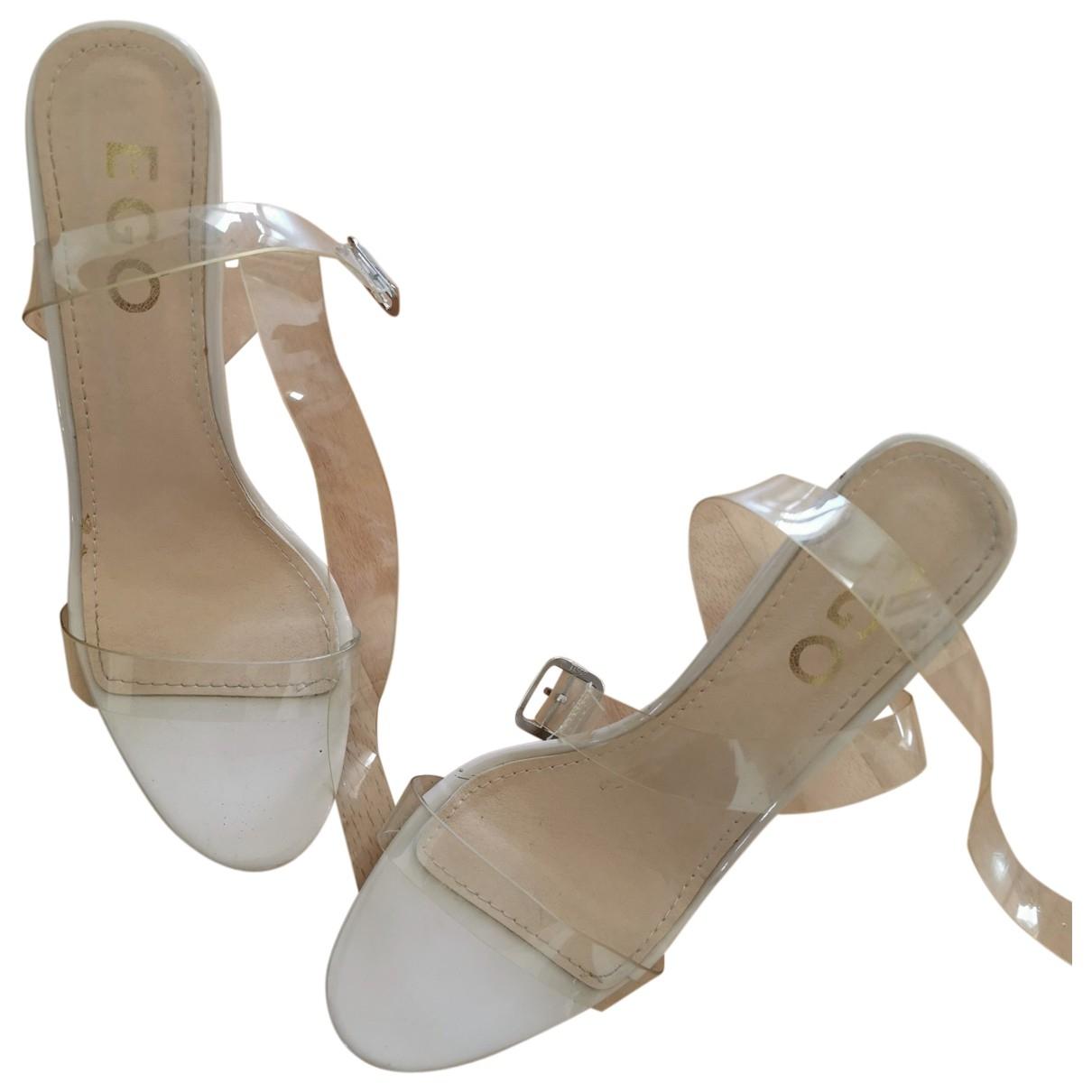 - Sandales   pour femme - beige