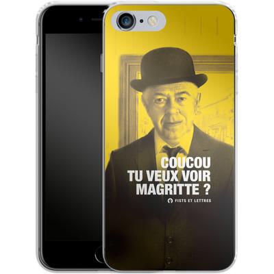 Apple iPhone 6s Plus Silikon Handyhuelle - Tu Veux Voir Magritte von Fists Et Lettres