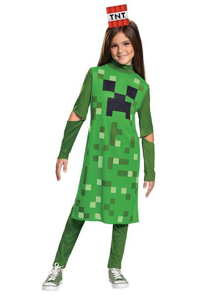 Milanoo Minecraft enredadera del mono con pantalones de Halloween cosplay