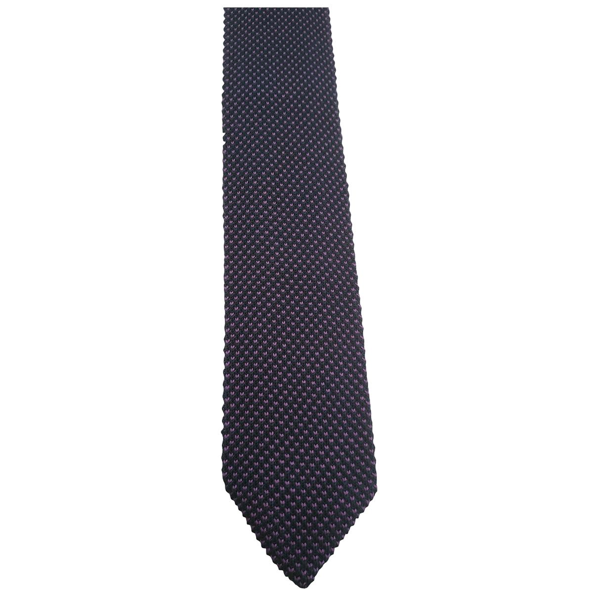 Corbata de Seda Massimo Dutti