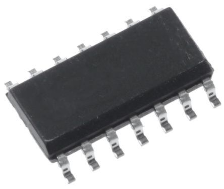 Analog Devices AD8277BRZ , Low Power, Op Amp, 550kHz 1 kHz, 2 → 36 V, 14-Pin SOIC (56)