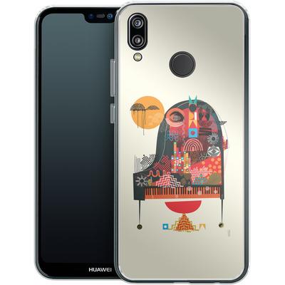 Huawei P20 Lite Silikon Handyhuelle - Sound of Joy von Victoria Topping