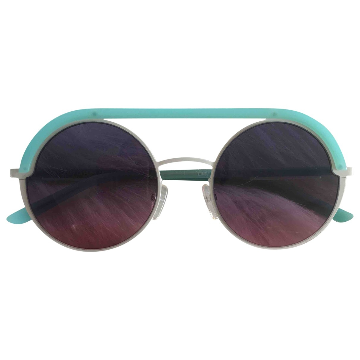 Non Signé / Unsigned \N Turquoise Sunglasses for Women \N