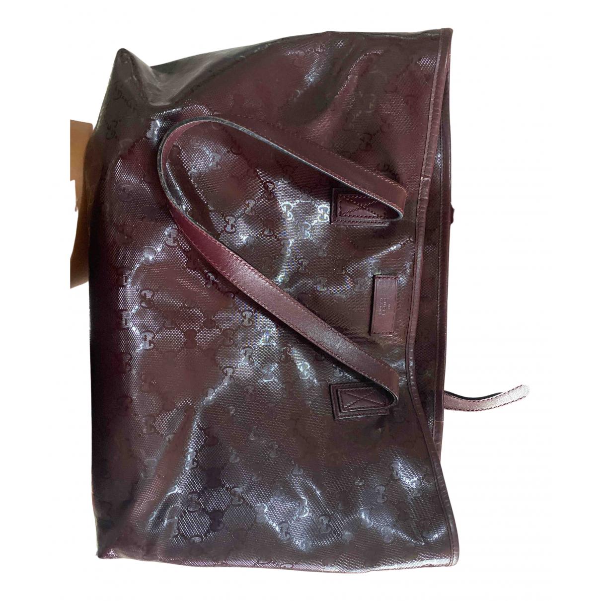 Gucci N Burgundy Cloth handbag for Women N