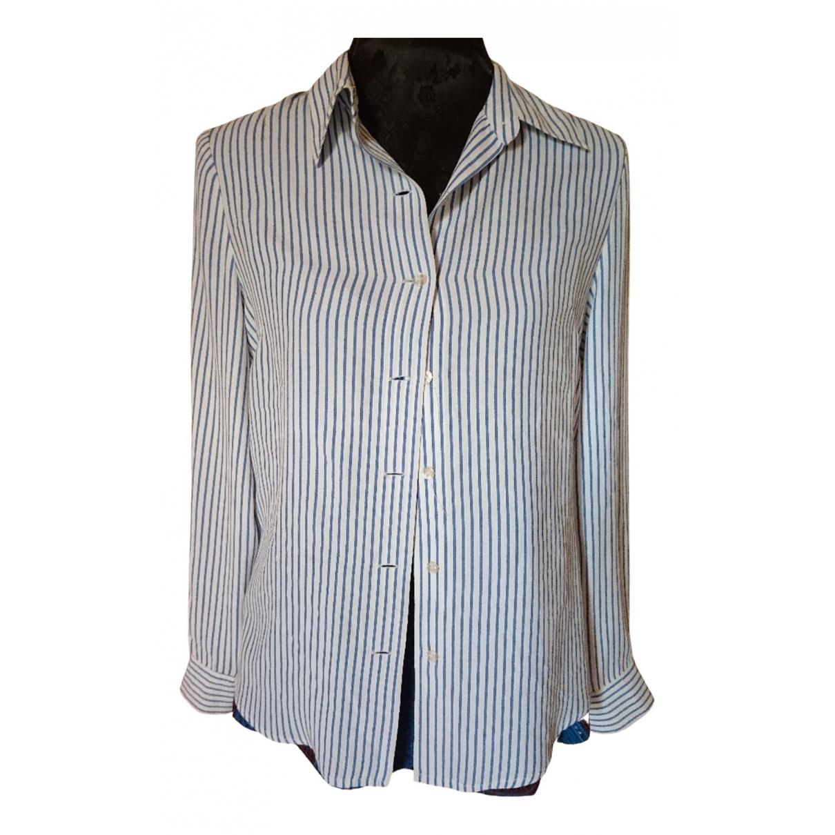 Jean Paul Gaultier - Top   pour femme en coton - blanc