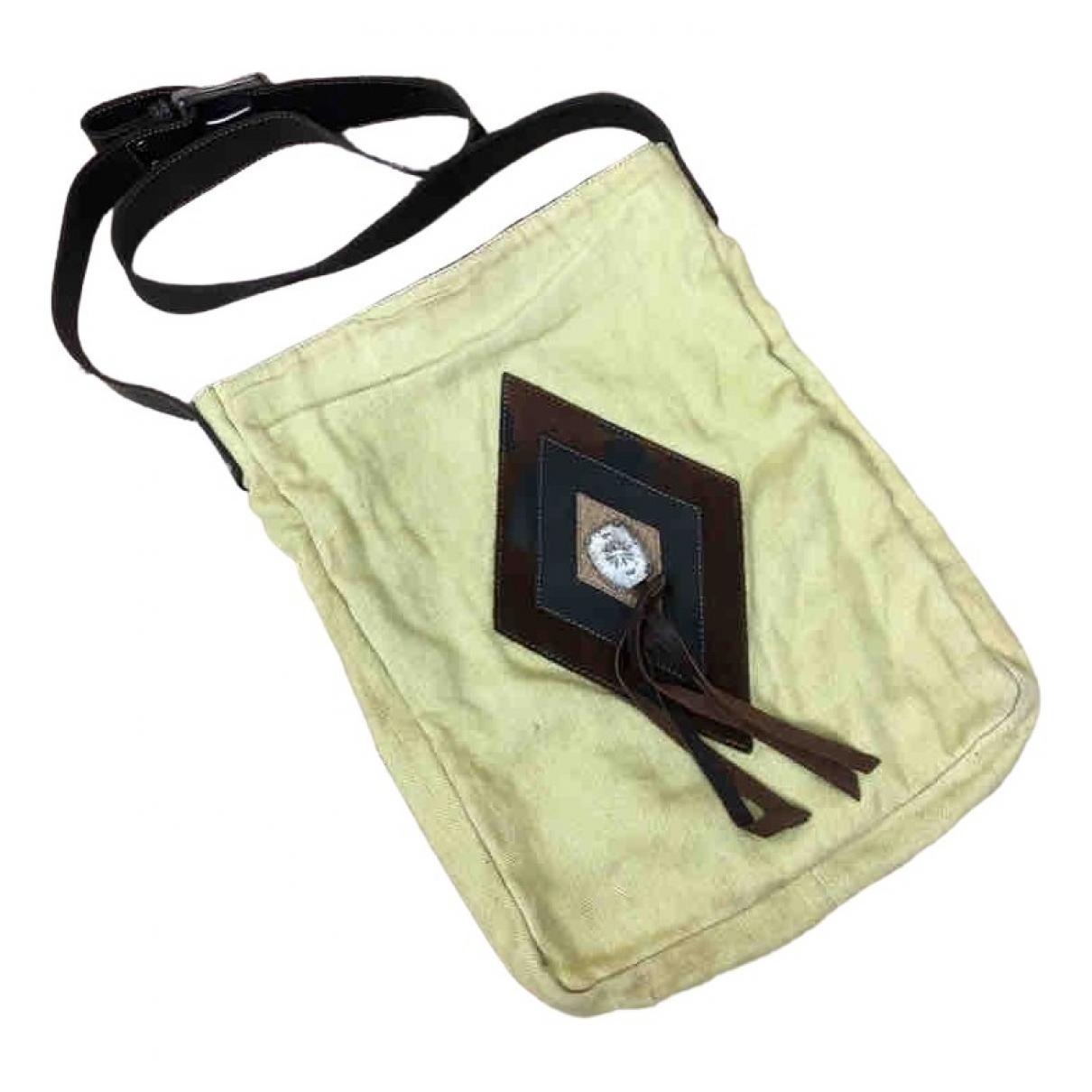 Alchimia Di Ballin \N Yellow Leather handbag for Women \N