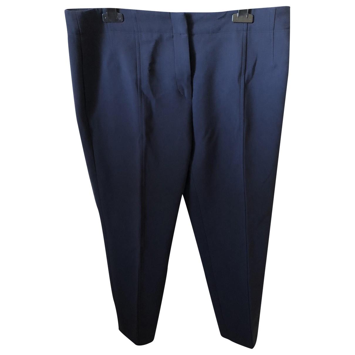 Gerard Darel \N Blue Trousers for Women 44 FR