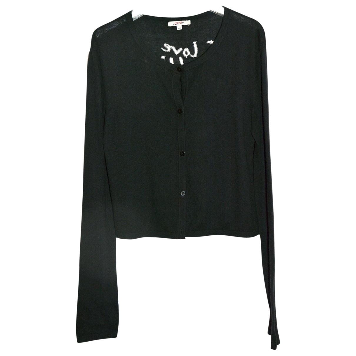 Jean Paul Gaultier \N Black Cotton Knitwear for Women XS International