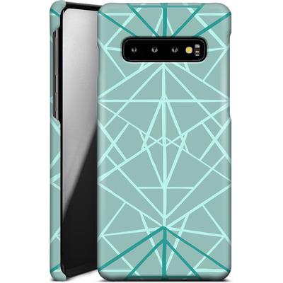 Samsung Galaxy S10 Smartphone Huelle - Geometric Sketches 3 von Mareike Bohmer