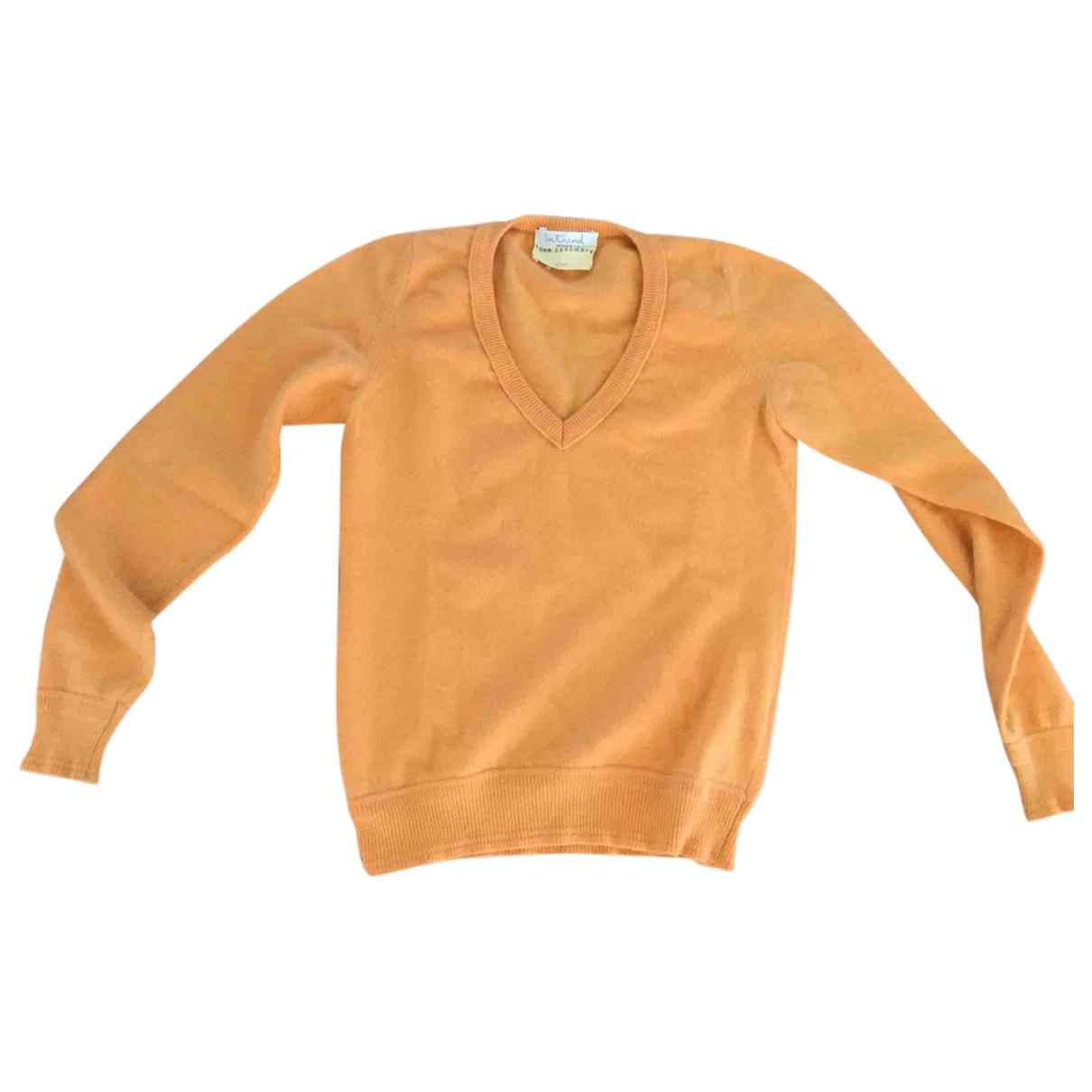 Intrend - Pull   pour femme en cachemire - orange