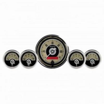 Auto Meter Cruiser AD 5 Gauge Set Fuel/Oil/Speedo/Volt/Water - 1100
