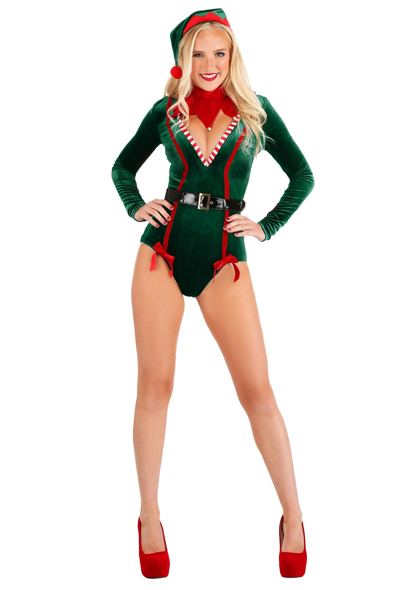 Sexy  Women's Santa Elf Costume