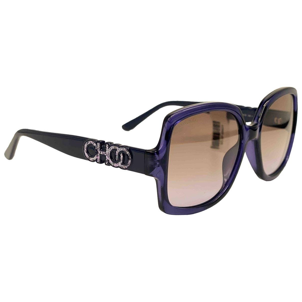 Jimmy Choo \N Sonnenbrillen in  Blau Kunststoff