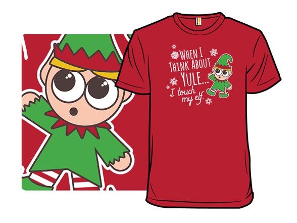 Touch My Elf T Shirt