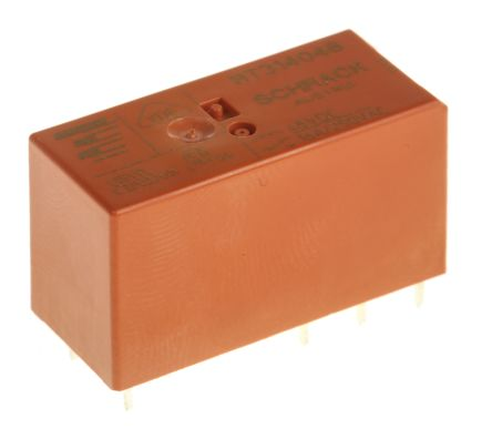 TE Connectivity , 48V dc Coil Non-Latching Relay SPDT, 16A Switching Current PCB Mount Single Pole