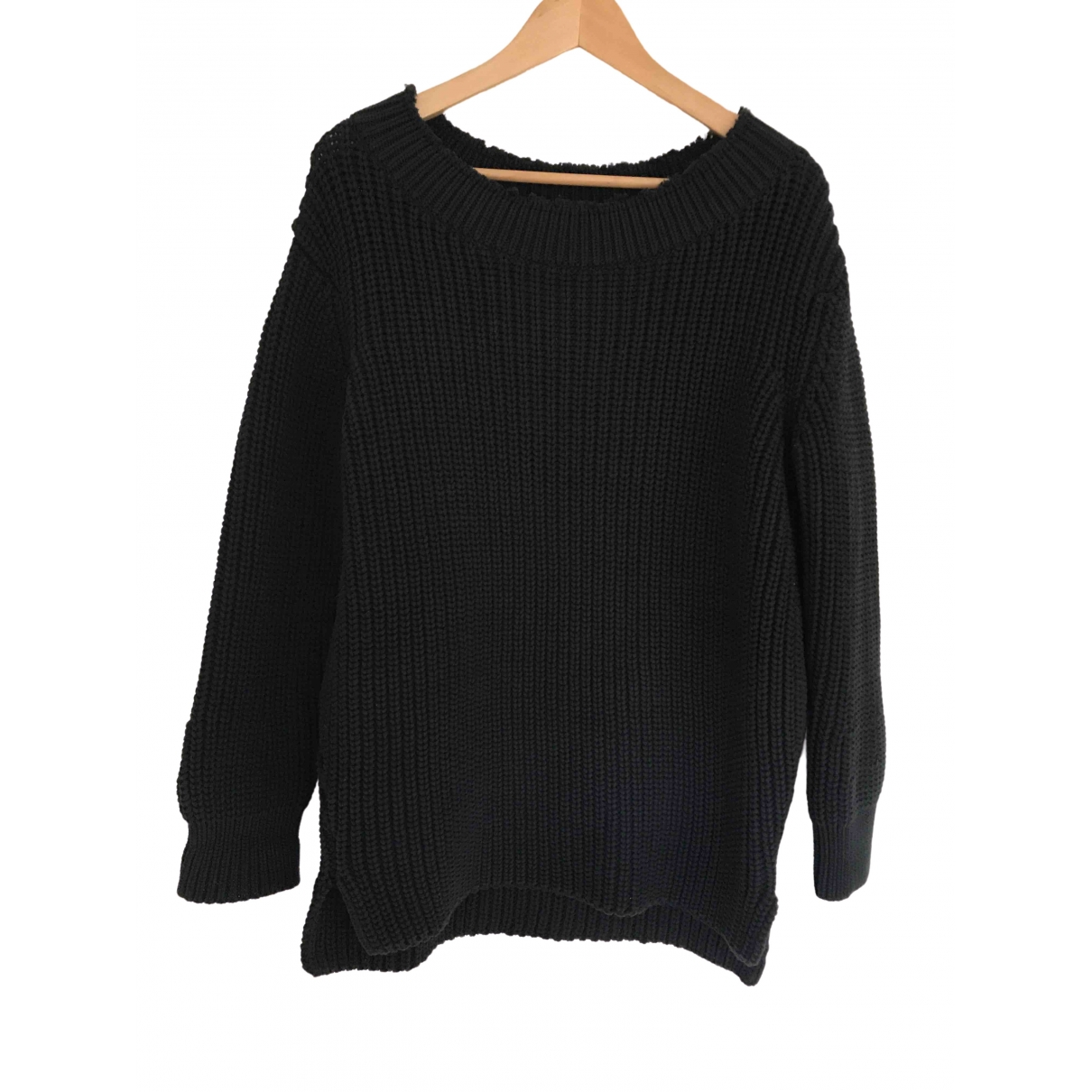 Hatch \N Black Cotton Knitwear for Women 36 FR