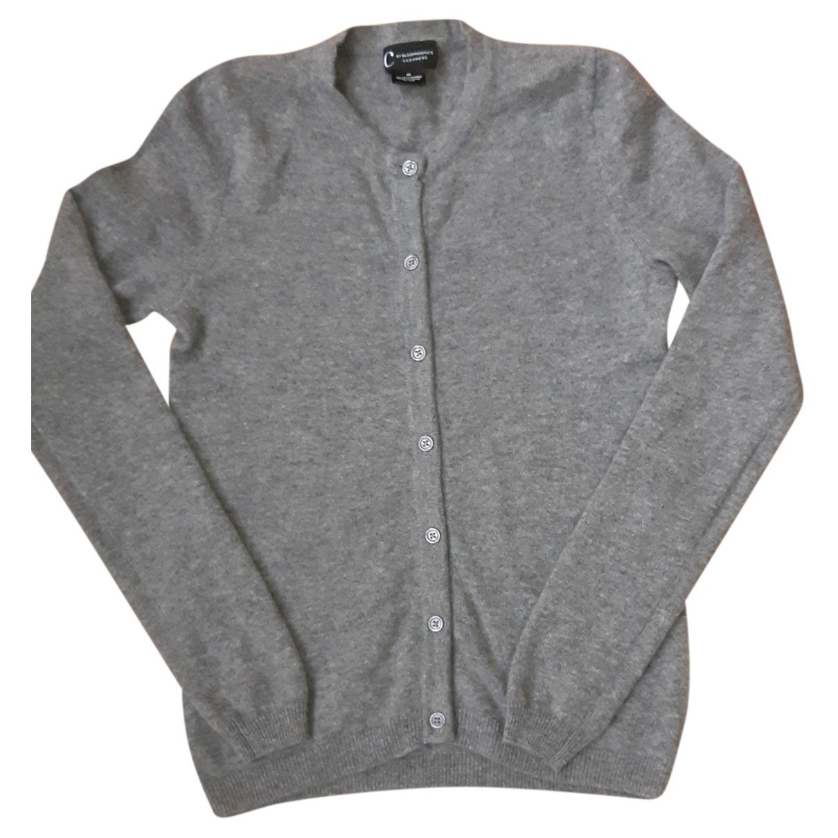 Bloomingdales - Pull   pour femme en cachemire - gris