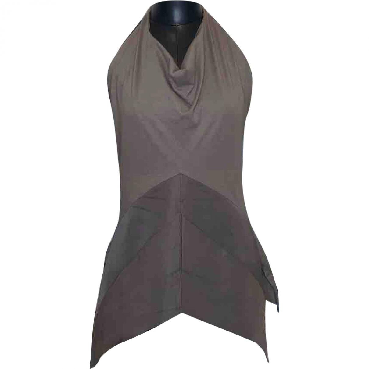 Rick Owens \N Grey Silk  top for Women 40 IT