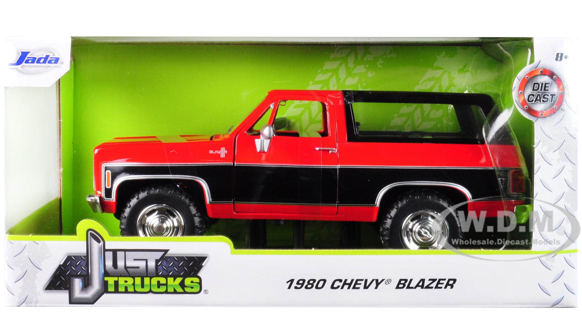 1980 Chevrolet Blazer K5 Red and Black