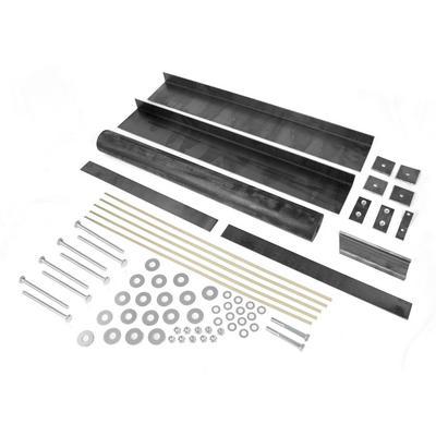 Omix-ADA Fiberglass Body Mounting Kit (Black) - 12201.04