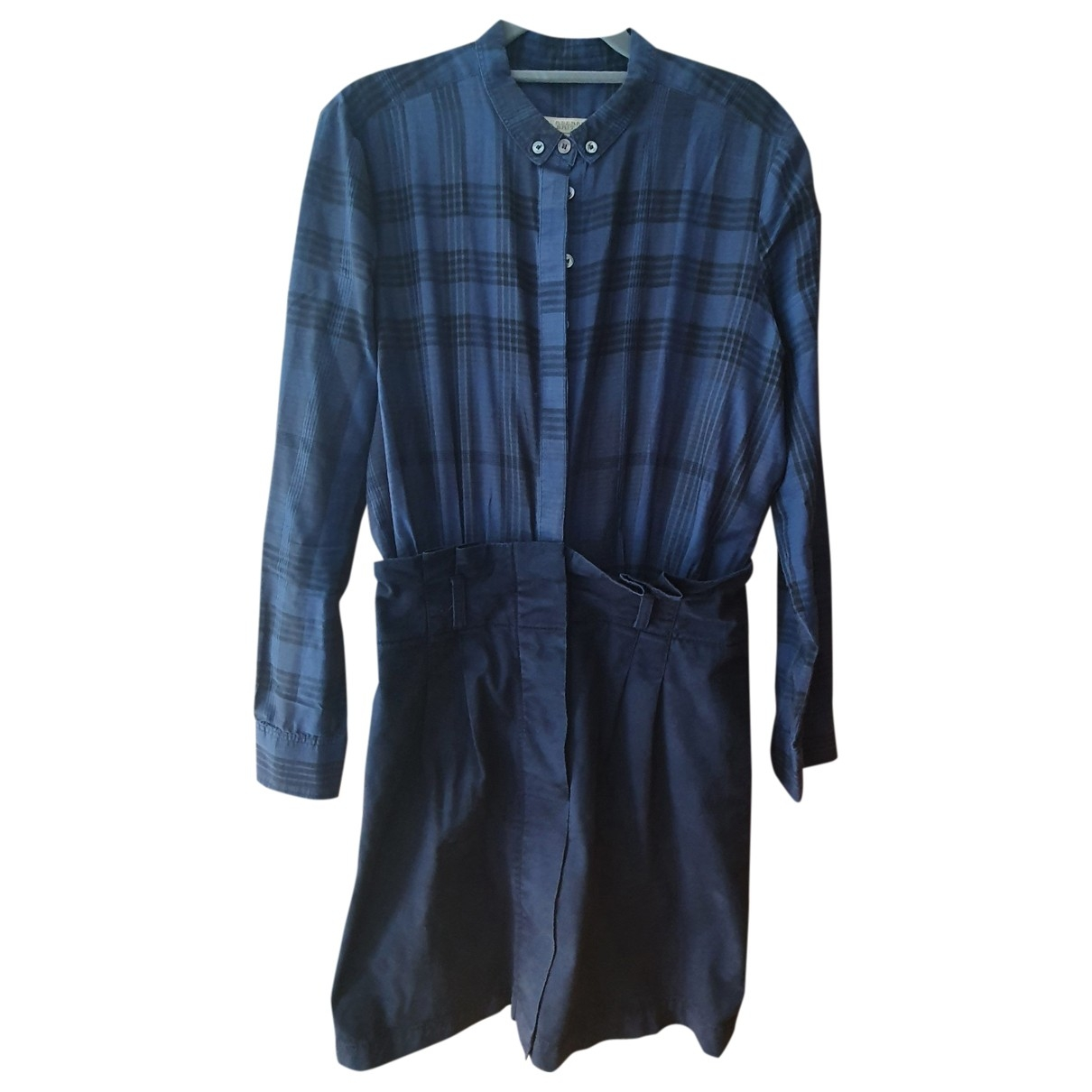 Burberry \N Navy Cotton dress for Women 40 FR
