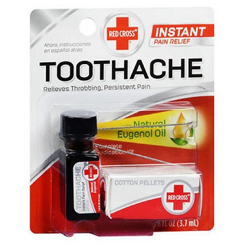 Red Cross Complete Medication Kit For Toothache 0.125 oz by Mentholatum