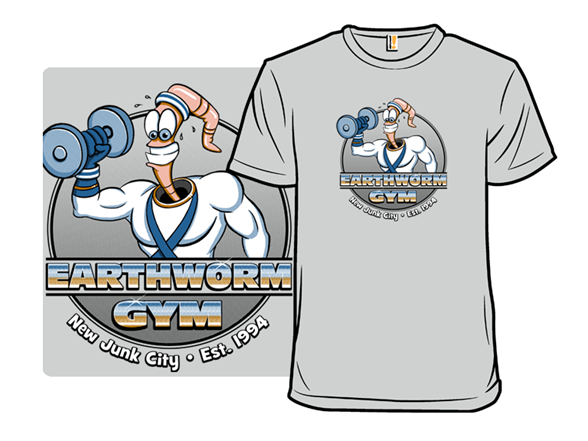 Earthworm Gym T Shirt