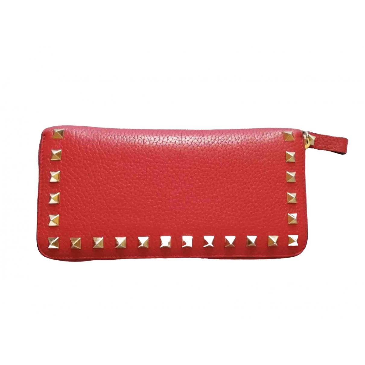 Valentino Garavani \N Red Leather wallet for Women \N