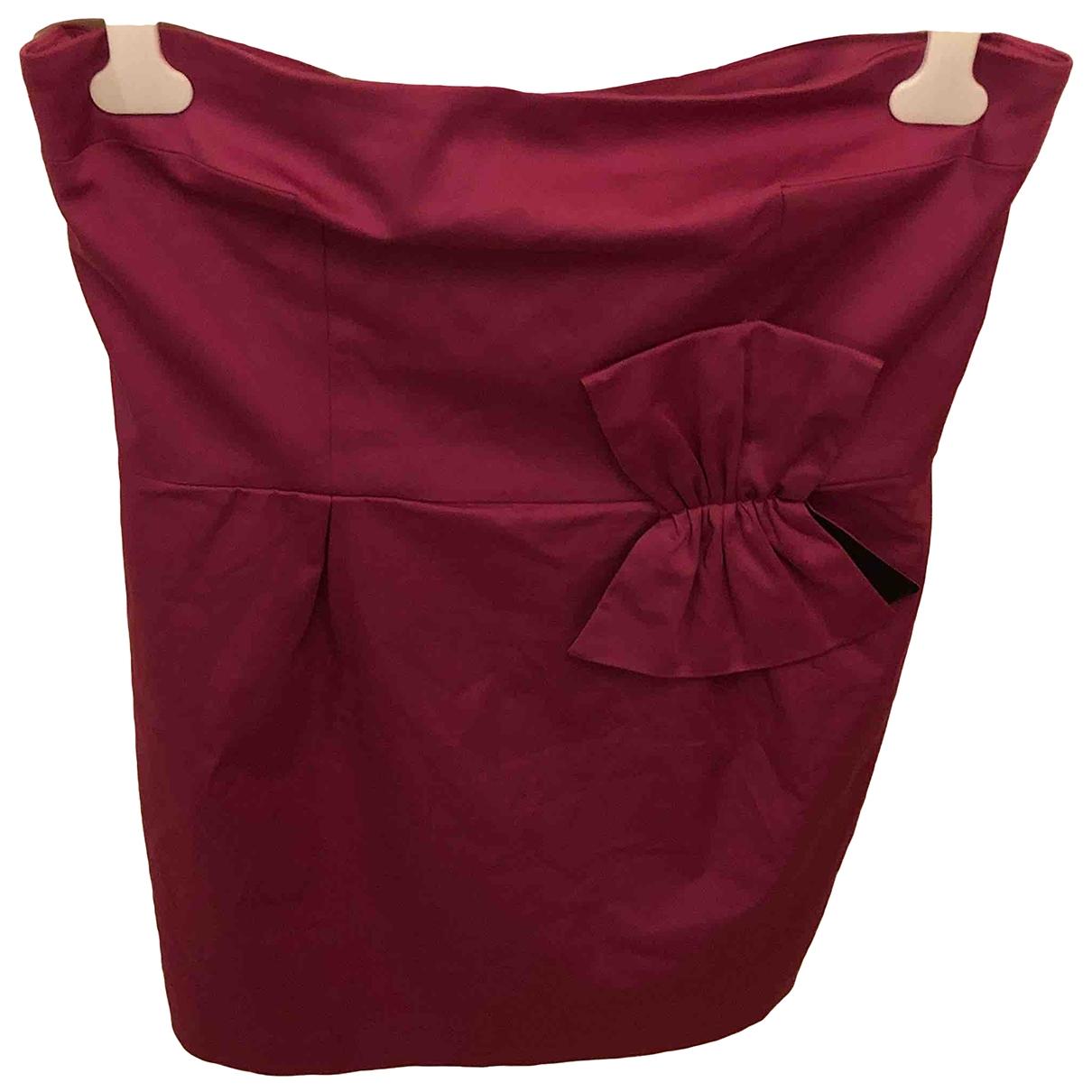 Paule Ka \N Purple Cotton dress for Women 46 FR
