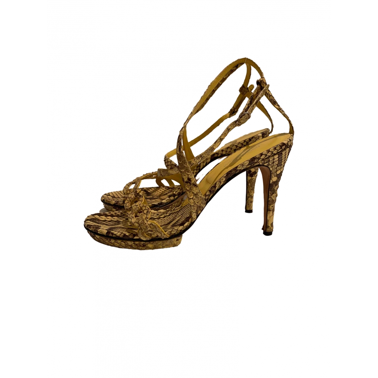 Sandalias de Piton Dolce & Gabbana