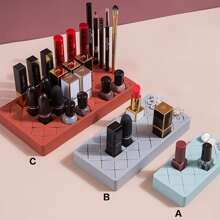 1 Stueck Einfarbige Aufbewahrungsbox fuer Lippenstick