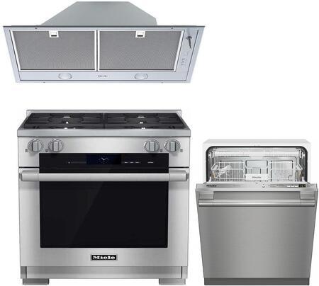 3-Piece Kitchen Appliances Package with HR1924DF 30