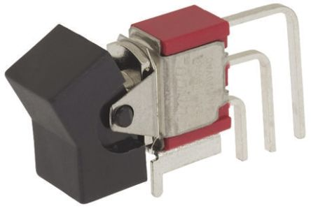 TE Connectivity Single Pole Double Throw (SPDT), On-(On) Rocker Switch PCB