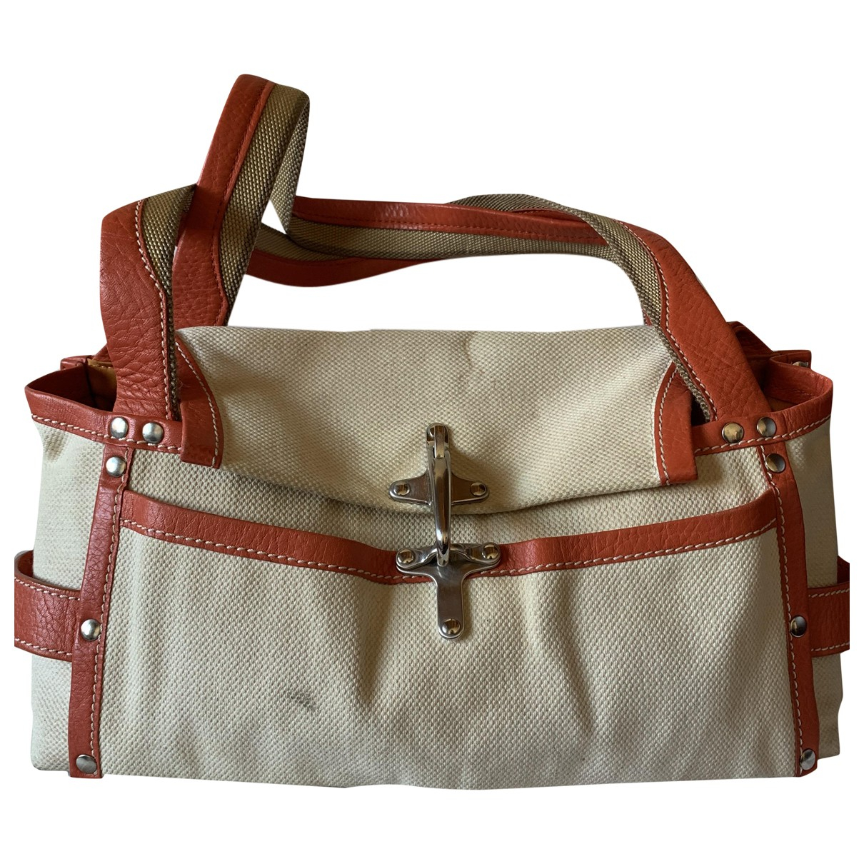 Fay \N Handtasche in  Beige Baumwolle