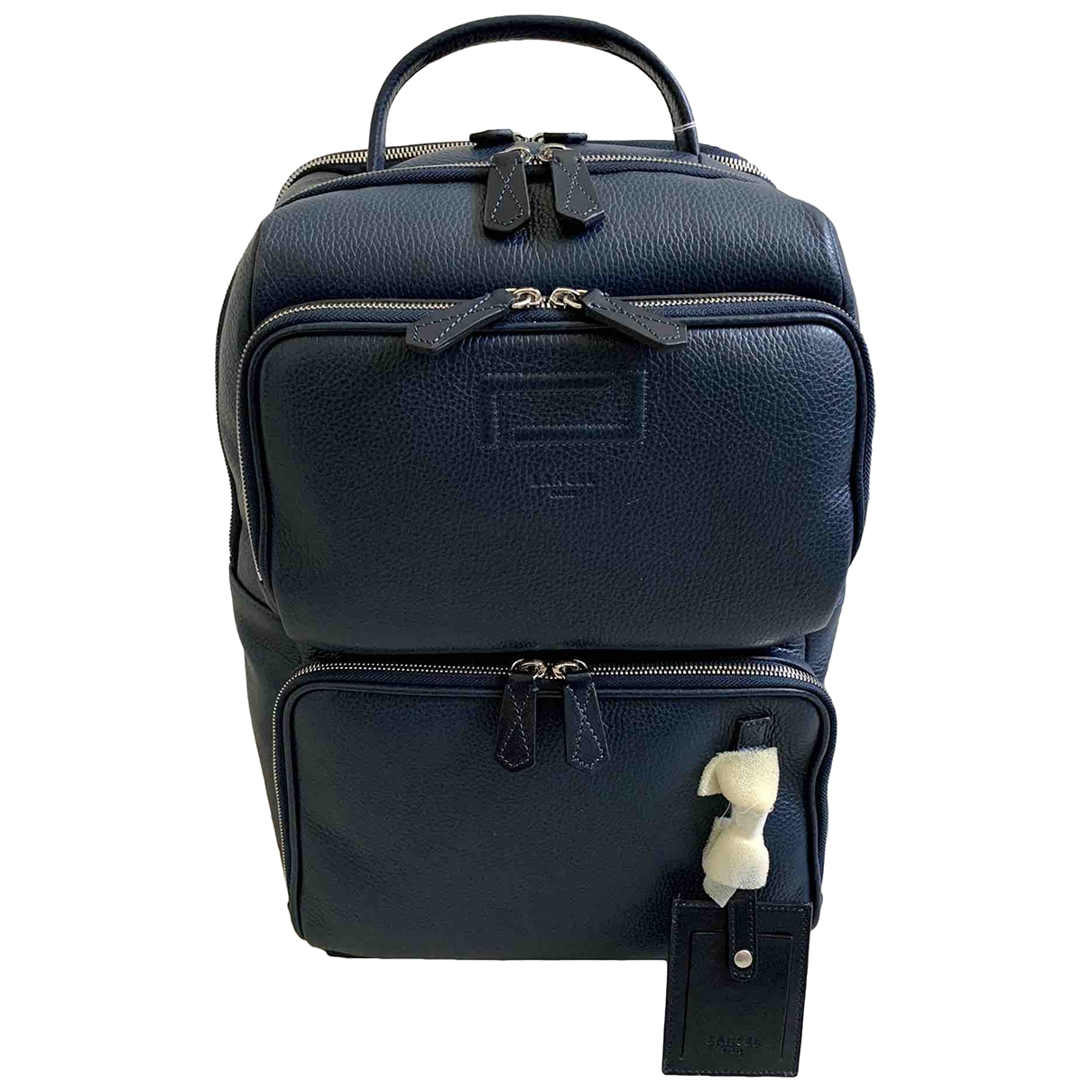 Lancel Grand Hotel Blue Leather bag for Men \N